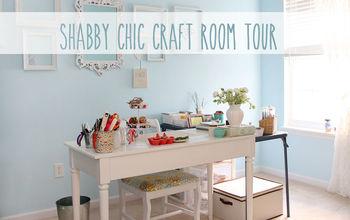 Shabby Chic Craft Room Tour