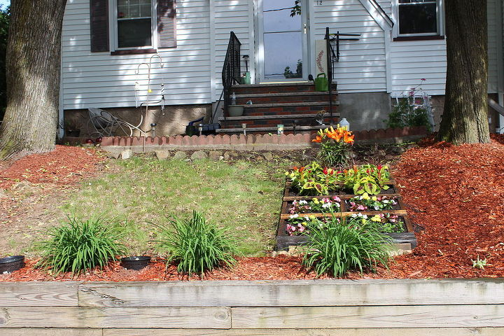 my front yard slope project, gardening, landscape