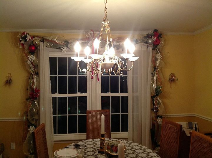 dining room garland, dining room ideas, seasonal holiday decor
