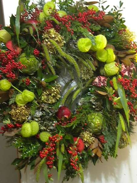 check out this awesome fresh wreath for one of our favorite clients, home decor, Check out this awesome fresh wreath for one of our favorite clients