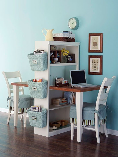 1. Multi-Functional & Effectively Using Space You Have -  This can be applied to many areas with in your decor. It could be applied to furniture, storage, and just your aesthetic. (see more space saving tips on my blog)