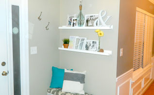 easy diy floating shelves, home decor, shelving ideas, woodworking projects