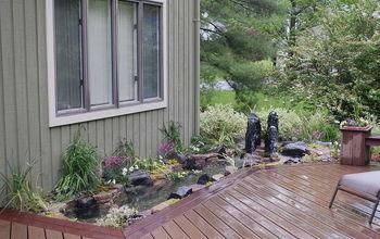 Deck Planter Gains Life