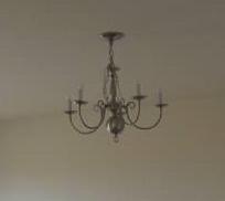 chandelier makeover, lighting, repurposing upcycling