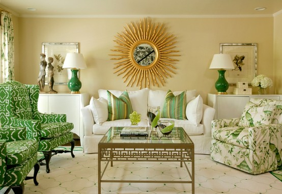happy new year refresh your rooms with pantones color of the year for 2013 emerald, home decor, Green is a classy color perfect for staging or decorating a living room