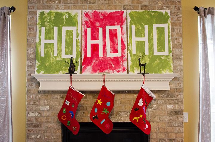 christmas wall art, christmas decorations, crafts, seasonal holiday decor