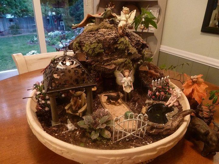 fairy garden, gardening