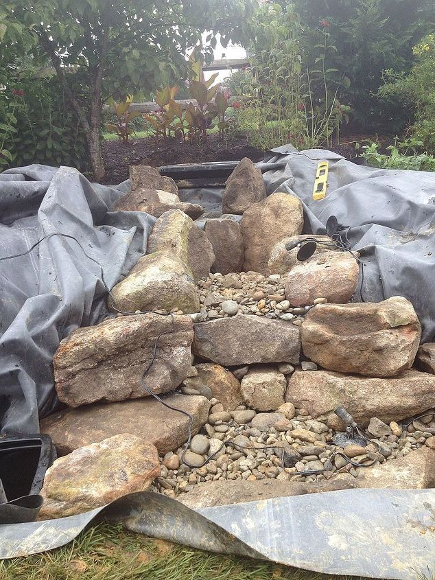 Pondless Waterfall Build Hometalk