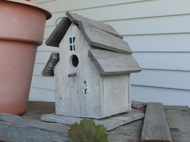 Quaint bird house