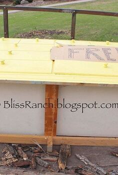 rock amp roll dresser, painted furniture, repurposing upcycling, Before Free Yellow Dresser about to rock