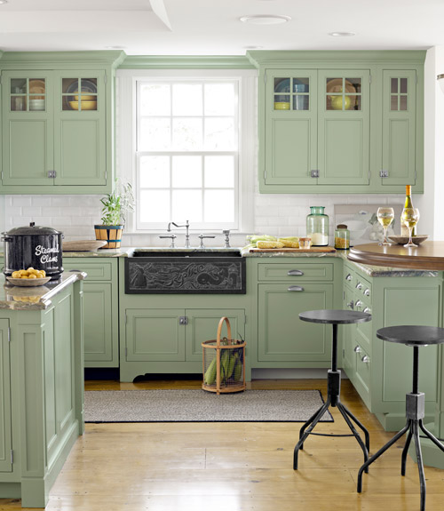 6 Colorful Kitchens We Love Hometalk - Colorful-kitchen-design