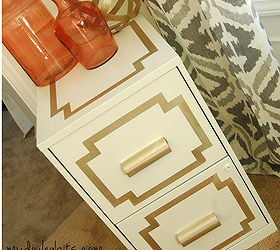 Glamorous File Cabinet Makeover, Painted Furniture, AFTER This File Cabinet  Is Such A Simple