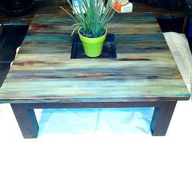 Coffee Table Rustic Redo For 5, Painted Furniture, Rustic Furniture, After  I Plan