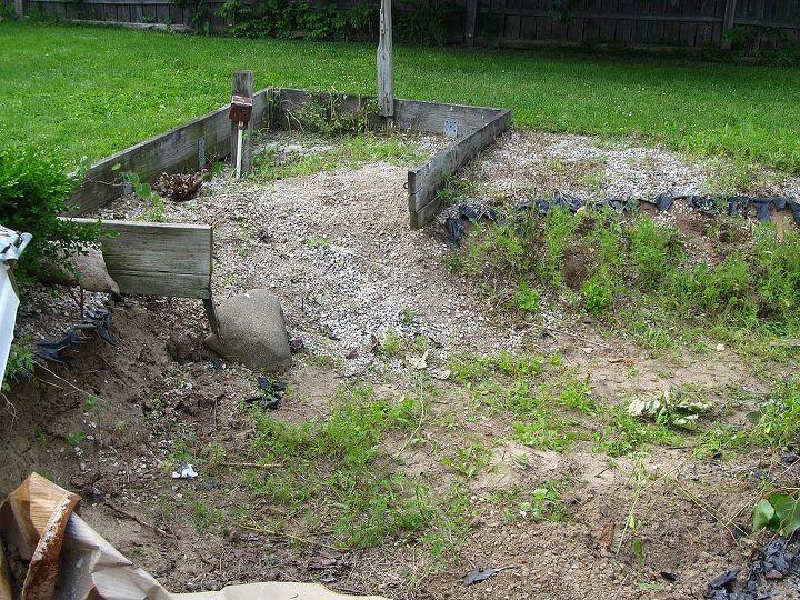 q my sunken garden, gardening