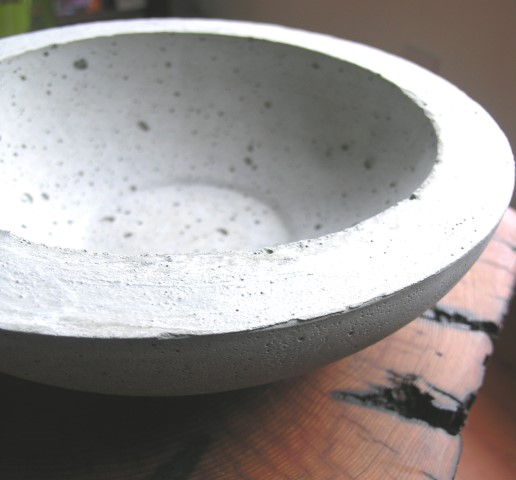 This is what your final product should look like if using round bowls as moulds.