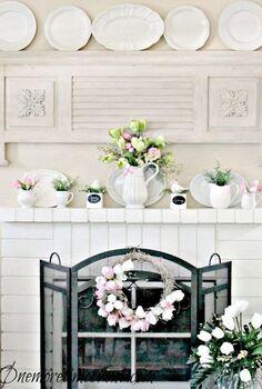 spring tulip wreath, crafts, seasonal holiday decor, wreaths