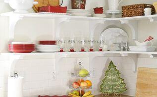 a christmas cottage home tour, christmas decorations, seasonal holiday decor, Kitchen