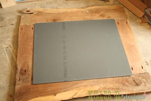 rustic mirror tutorial hometalk. Black Bedroom Furniture Sets. Home Design Ideas