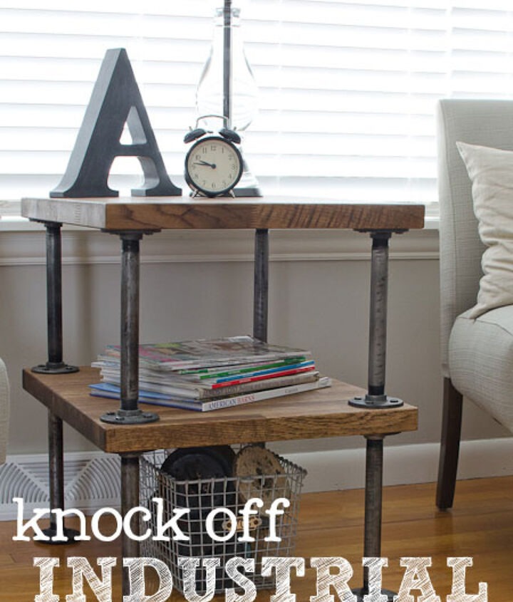 Knock Off Industrial Table