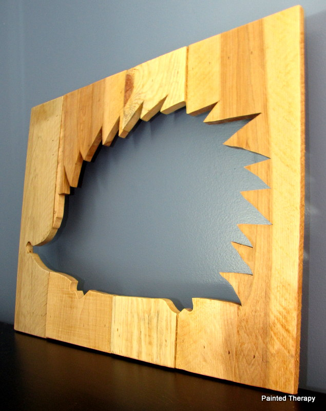 reclaimed wood animal silhouettes, home decor, woodworking projects