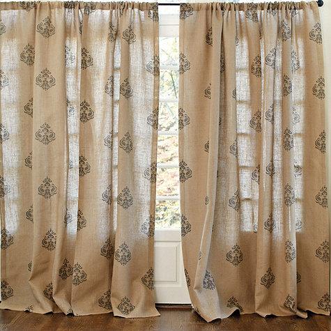 These Ballard Designs curtains were my inspiration.