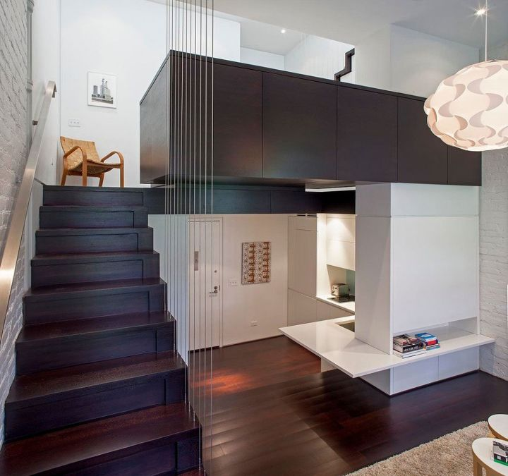 apartment in manhattan micro loft, home decor, urban living