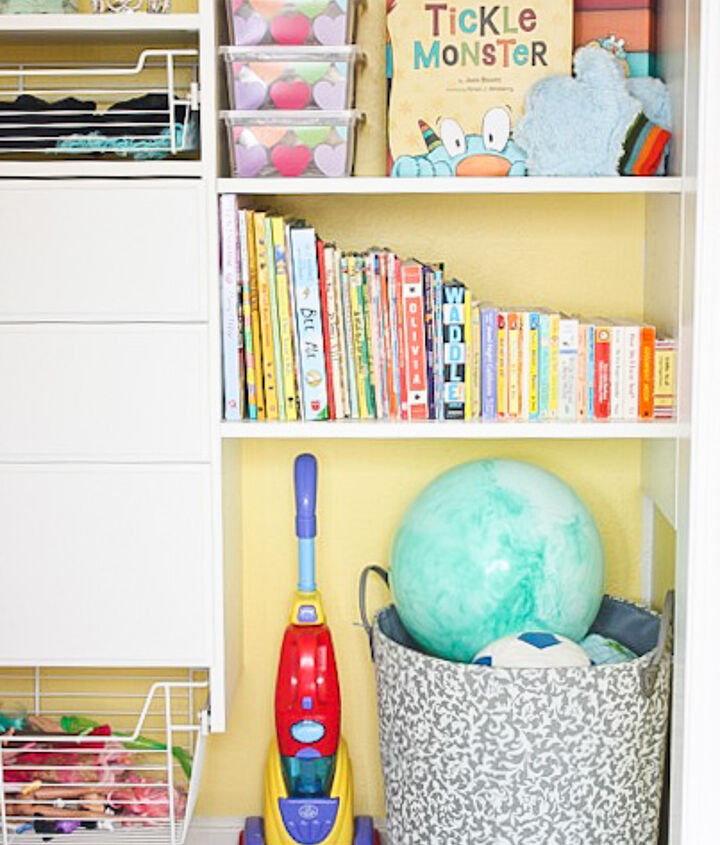 organized custom kid s closet reveal, closet, organizing