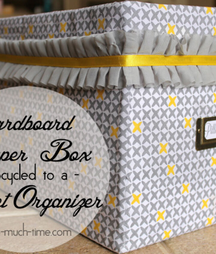 diaper box upcycle, crafts, repurposing upcycling