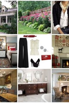 are you in love with your home decor, home decor, The step in this process was creating this personal style board Simply collect images that you LOVE and create a photo collage Suddenly your style becomes very evident I d say my style is best defined as casual elegance