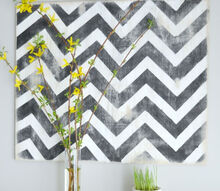 do it yourself chevron wall art, crafts, Do It Yourself Chevron Wall Art