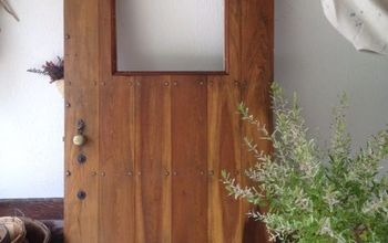 Reclaimed, Refinished Vintage Door