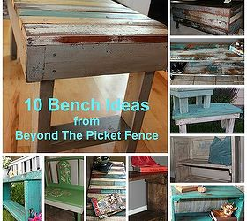 Bench Painting Ideas Part - 30: 10 Bench Ideas, Diy, How To, Painted Furniture, Repurposing Upcycling,  Rustic