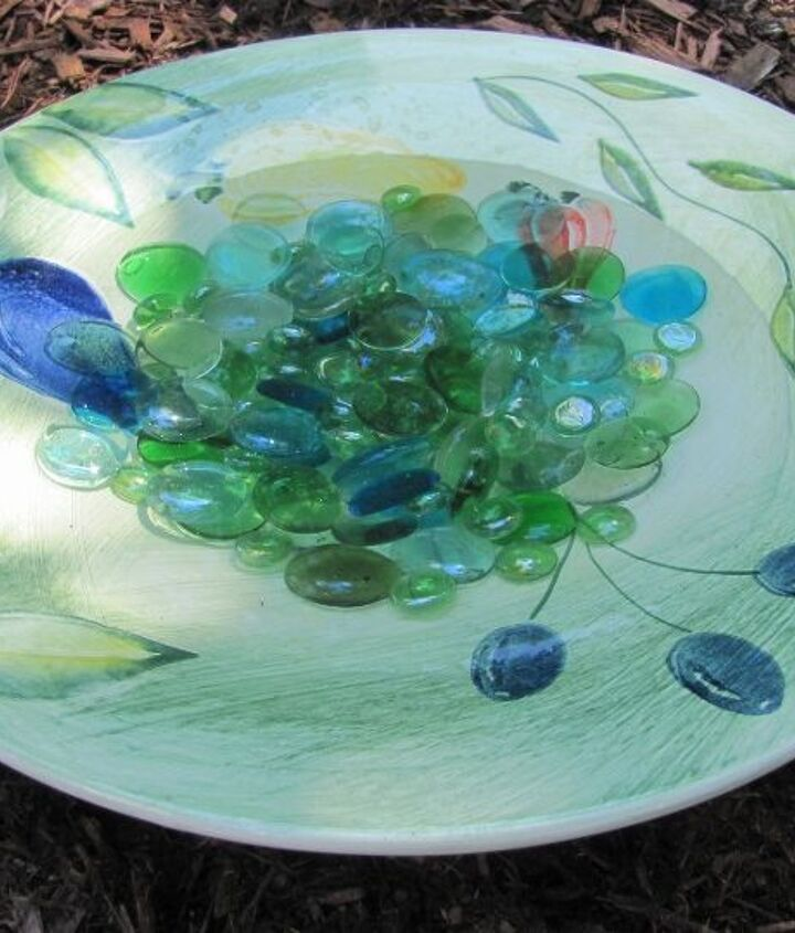The big salad plate.