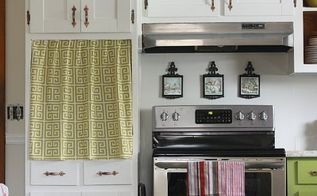 update kitchen cabinet doors on a dime, diy, how to, kitchen cabinets, kitchen design, woodworking projects, I love how bright and happy this space is now