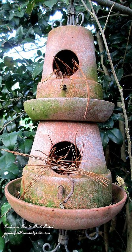 Double Decker Birdhouse