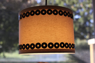 Pendant Shade with Metal Washers