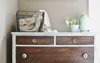 How To Strip Painted Furniture & A Makeover