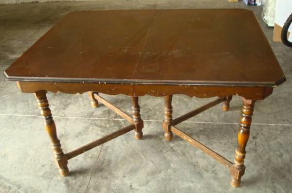 something fun, painted furniture, Table but no leaf