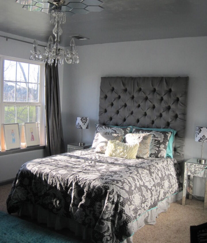 Completed room makeover by Bella Tucker Decorative Finishes