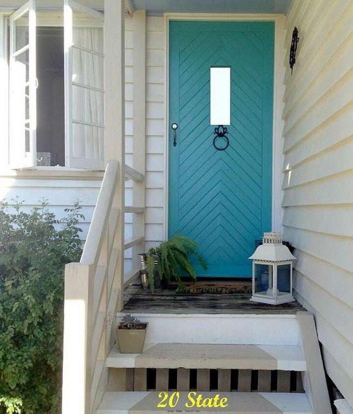 painted front door, curb appeal, doors