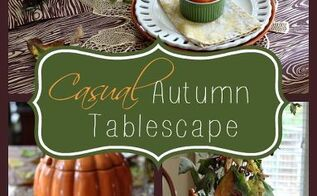 fall centerpiece tablescape ideas with pumpkins leaves and owls, outdoor living, seasonal holiday decor