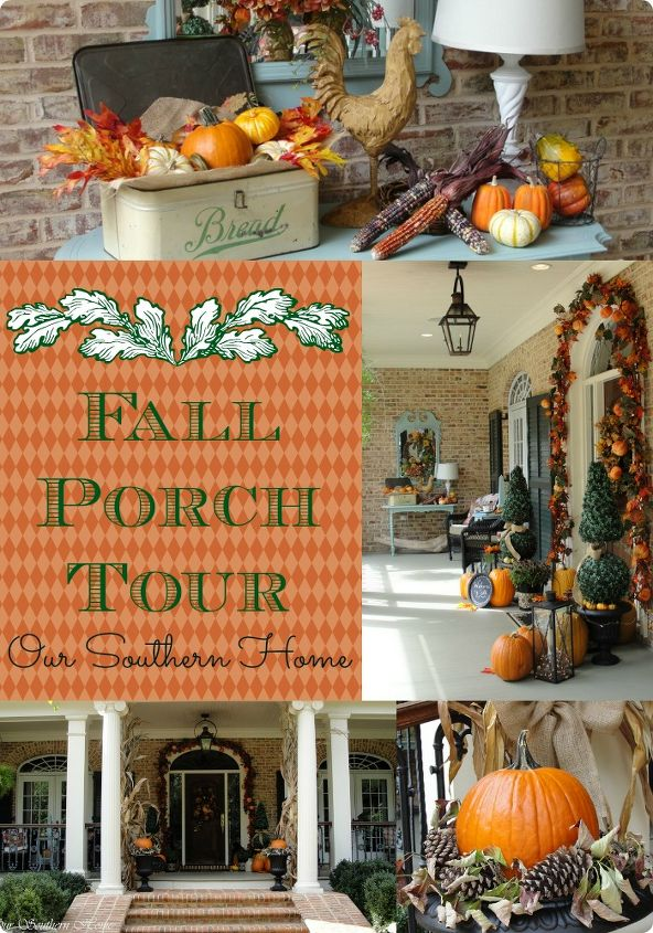 Welcome to my 2013 Fall Porch Tour