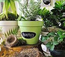 diy spring clay pots, crafts, flowers, gardening, painting