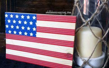 Washi Tape USA Flag