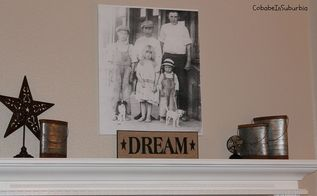 diy photo canvas project, crafts, home decor