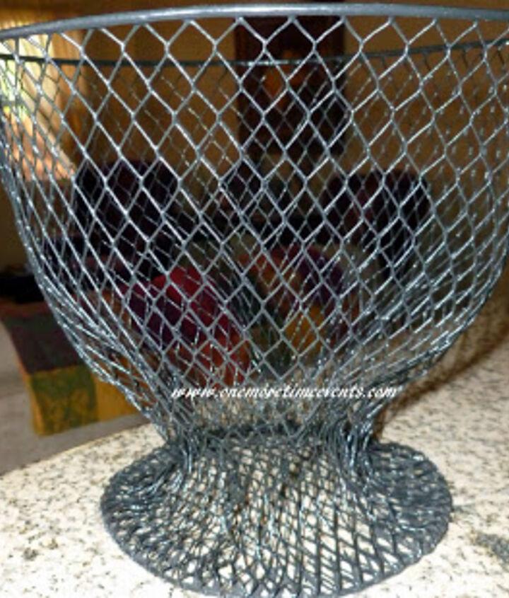 Formed Wire Trash Basket