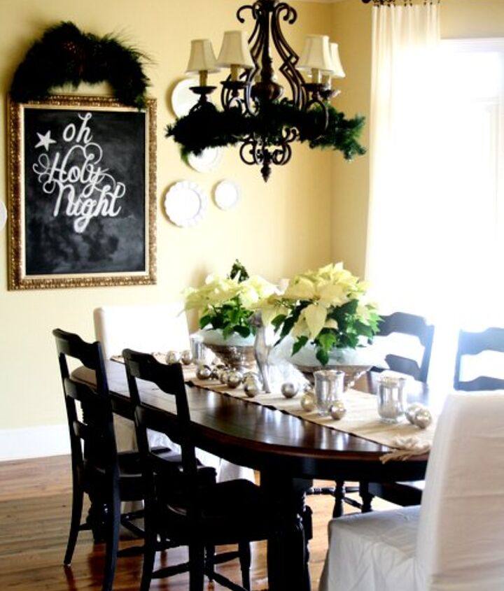 what s for christmas dinner in the dining room, dining room ideas, seasonal holiday decor