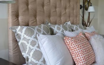 How To Make a DIY Tufted Headboard for Under $150