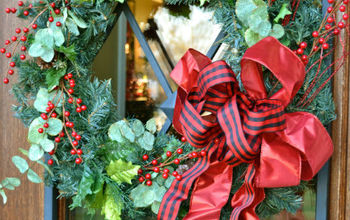 Christmas Front Door and Porch Decor