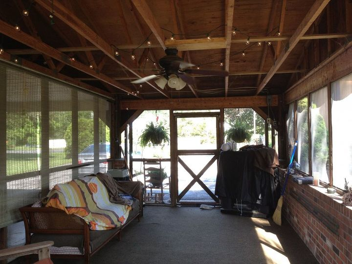 From Simple Screened Porch To Entertaining Oasis Cheap